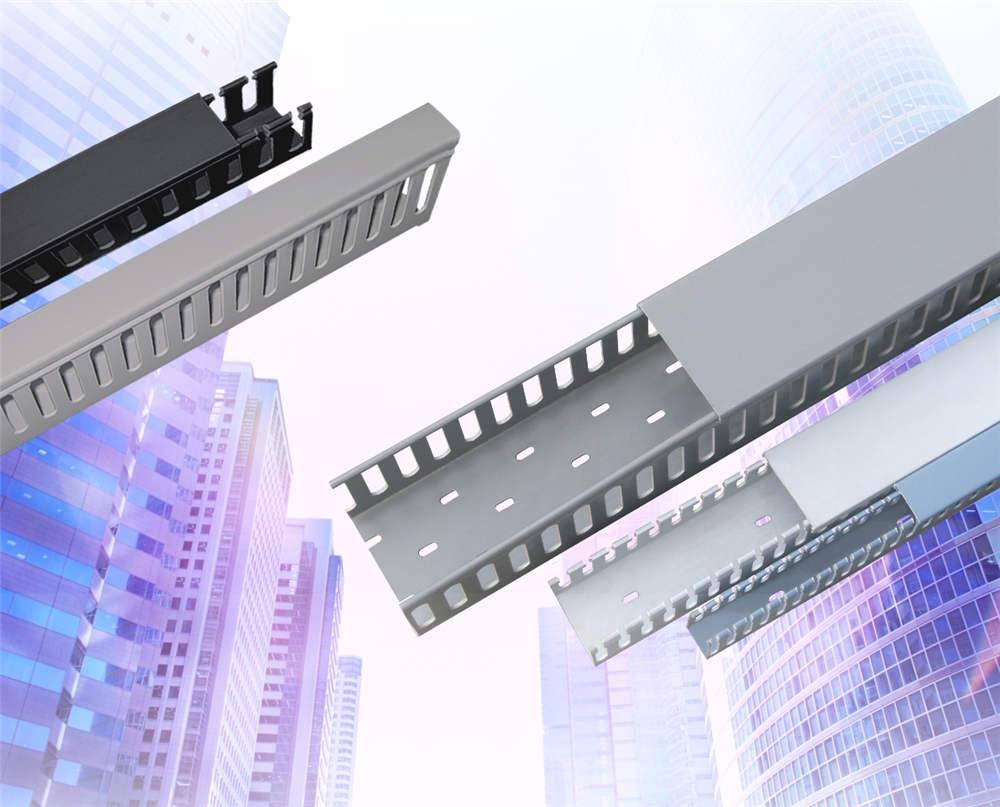 联塑阻燃绝缘PVC工业线槽