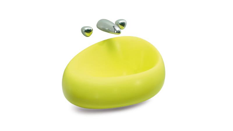 柔线条洗手盆 LY1702
