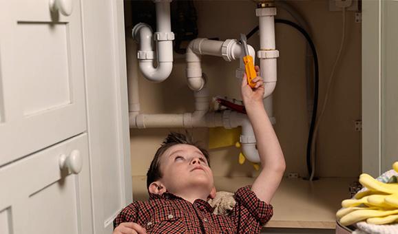 实用的五招教你疏通排水管