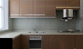 让厨房时尚又实用 橱柜装修选材攻略