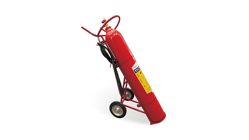 推车式二氧化碳灭火器