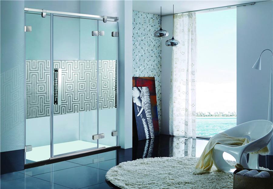 联塑不锈钢淋浴屏风LF5310