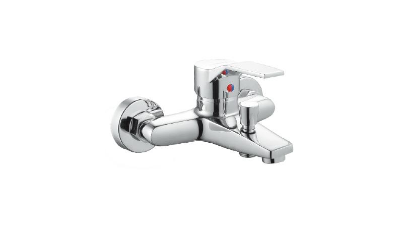 联塑单柄双孔混合浴缸龙头W52207