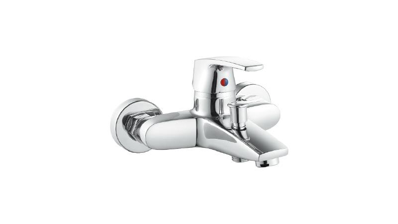 联塑单柄双孔混合浴缸龙头W52209