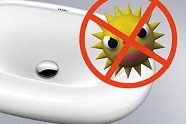 超低吸水率 抑污、抑制臭味