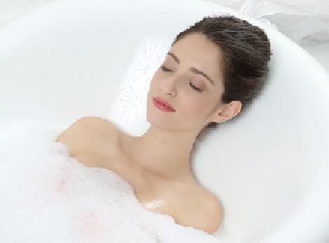 符合人体工程学 舒适沐浴