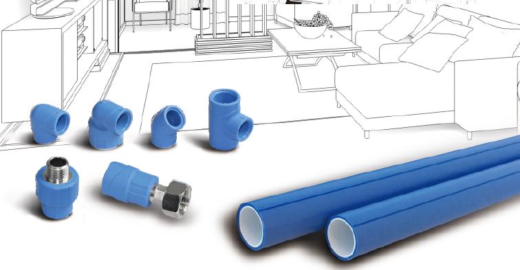 联塑瓷芯系列 双色PP-R给水管
