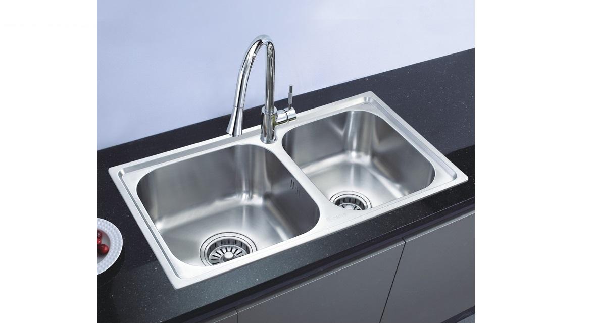 联塑不锈钢水槽CS11220