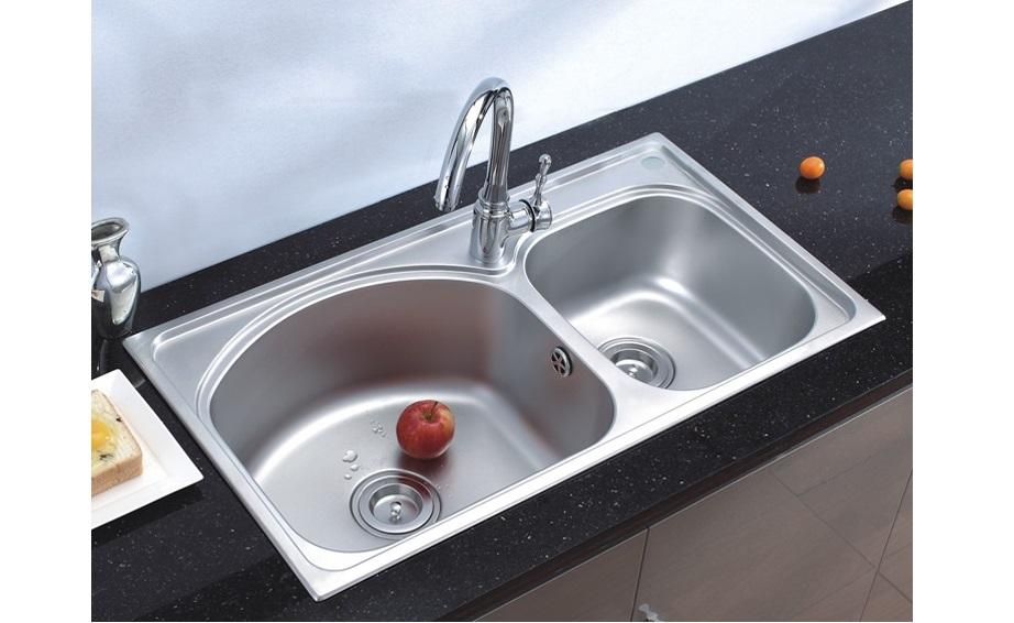联塑不锈钢水槽CS11217