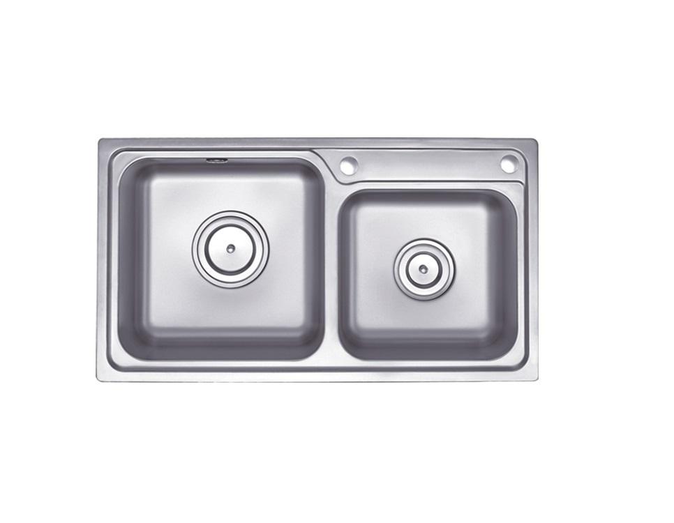 联塑不锈钢水槽CS11218