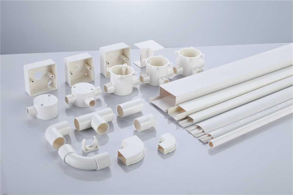 联塑阻燃绝缘PVC 电线槽、电工套管