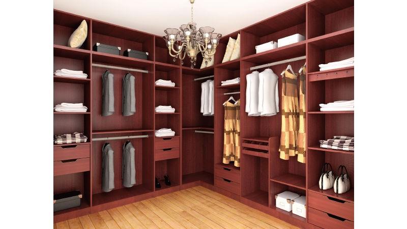 开放式衣柜有什么优点