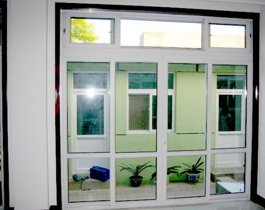 塑钢门窗结构有哪几部分组成