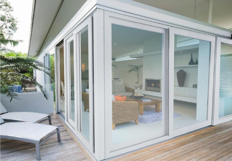塑钢门窗如何变白