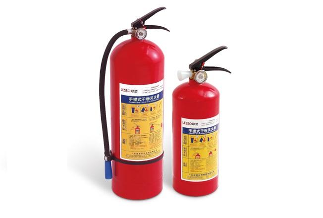 干粉灭火器能灭哪些火灾