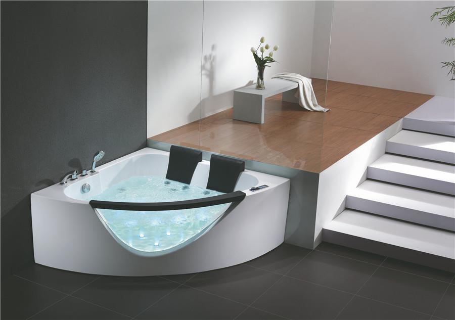 扇形浴缸如何安装?