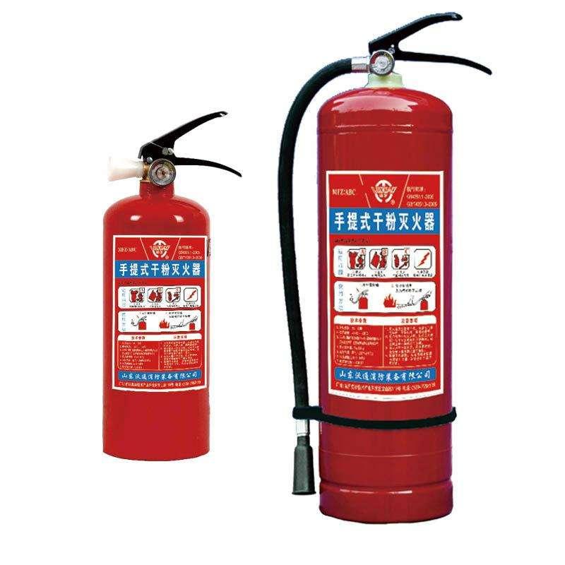 电源起火能用干粉器灭火吗?