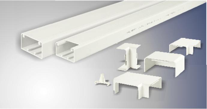 PVC阻燃电工线槽的安装注意事项