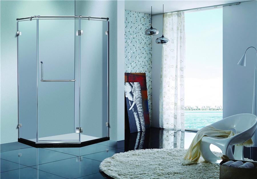 怎么选择淋浴房玻璃门夹