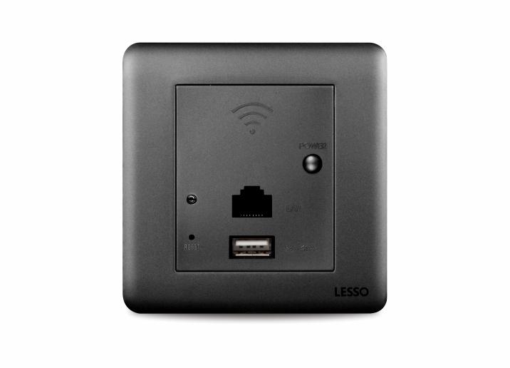联塑Y3V3  WiFi无线路由USB充电插座
